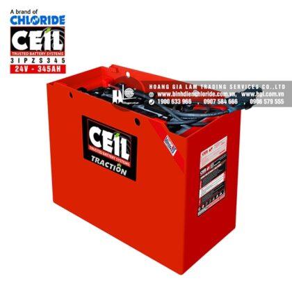 Bình điện xe nâng CEIL (Chloride) 24V - 345Ah 3IPZS345