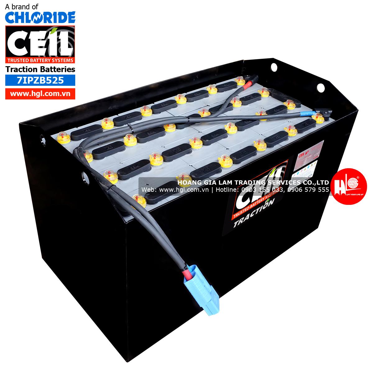 binh-dien-xe-nang-chloride-ceil-525ah-48v-7IPZB525-nap-vang