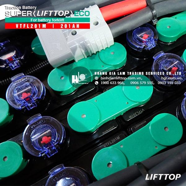 Bình điện xe nâng LIFTTOP 48V-201Ah VTFL201M