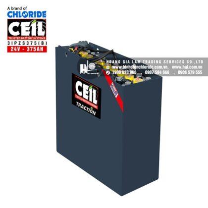 Bình điện xe nâng CEIL (Chloride) 24V - 375Ah 3IPZS375 (B)