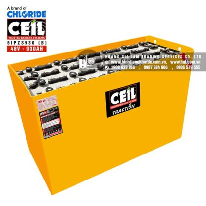 Bình điện xe nâng CEIL (Chloride) 48V - 930Ah 6IPZS930 (B)