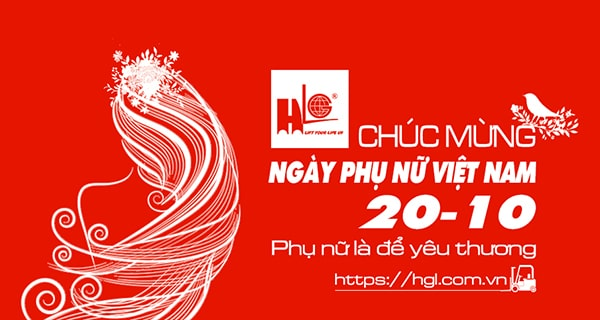 CTY Hoàng Gia Lâm chúc mừng ngày Phụ Nữ Việt Nam 20 tháng 10