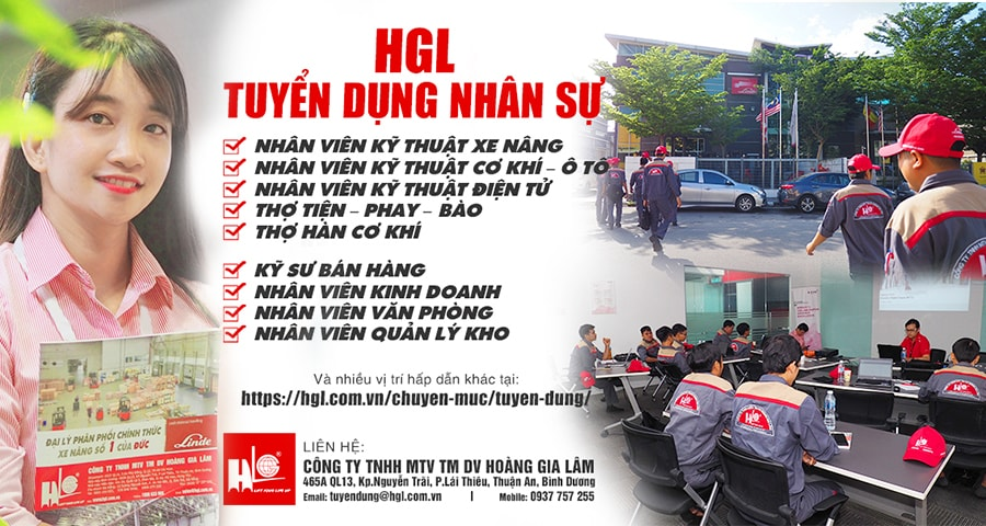 CTY Hoàng Gia Lâm tuyển dụng nhiều vị trí tại Bình Dương, Hồ Chí Minh, Hưng Yên