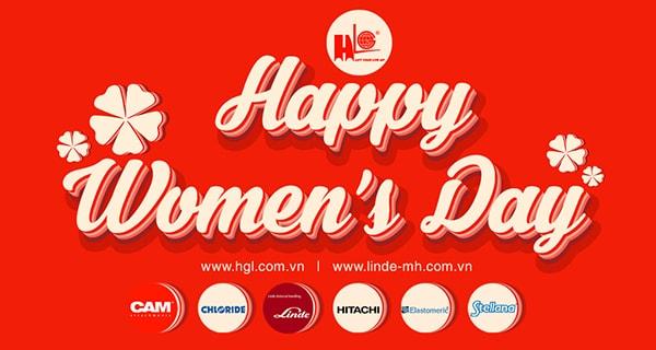 CôngTy TNHH MTV TM DVHoàng Gia Lâm chúc mừng ngày ngày Quốc Tế Phụ Nữ 8/3!