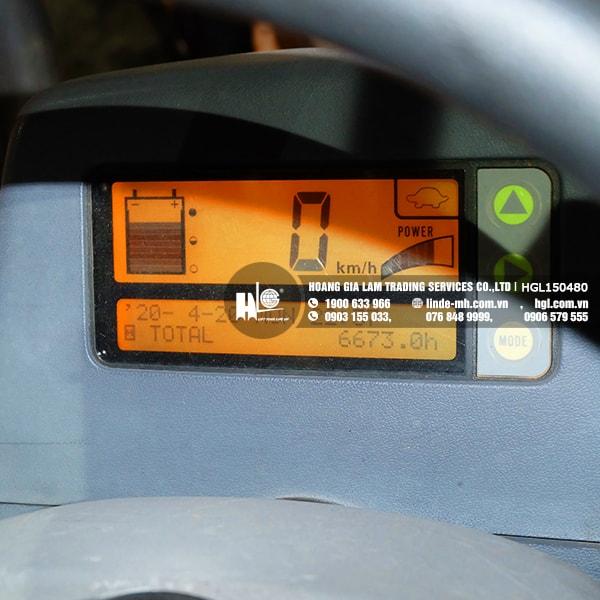 Xe nâng điện KOMATSU FB15EX-11 (HGL150480)