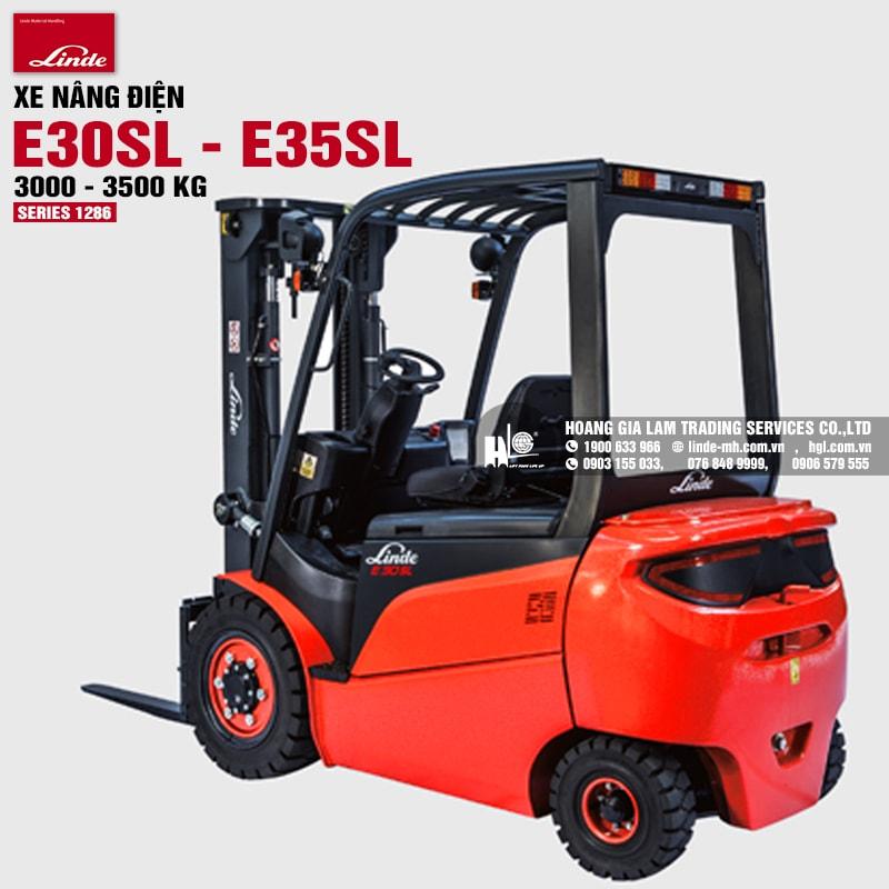 Xe nâng Linde E30SL-E35SL (Series 1286)