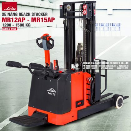 Xe nâng reach stacker Linde MR12AP - MR15AP (Series 1166)