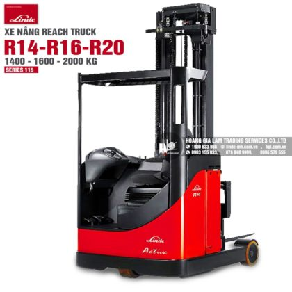 Xe nâng reach truck Linde R14 - R20 (Series 115)