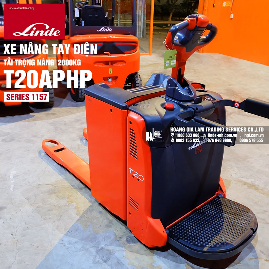 Xe nâng tay Linde T20APHP (Series 1157)
