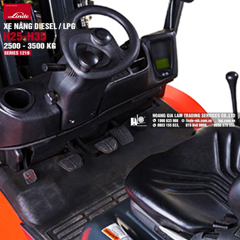 Xe nâng Linde H25-H35 (Series 1219)