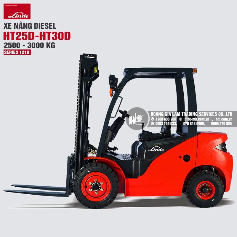 Xe nâng Linde HT25D-HT30D (Series 1218)