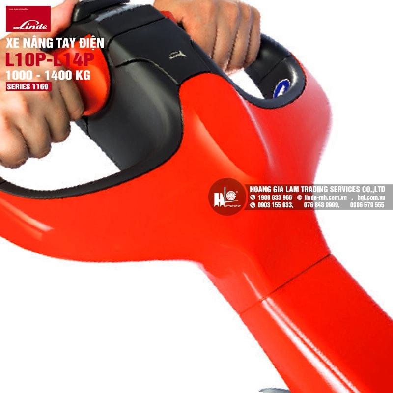 Xe nâng tay Linde L10P – L14P (Series 1169)
