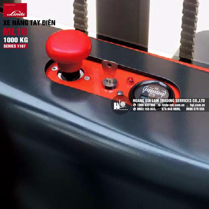 Xe nâng tay Linde ML10 (Series 1167)