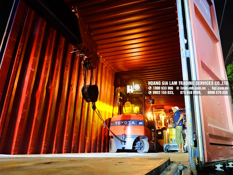 Hàng mới về 11.2020: Container xe nâng Nhật 1.3 tấn - 2.5 tấn