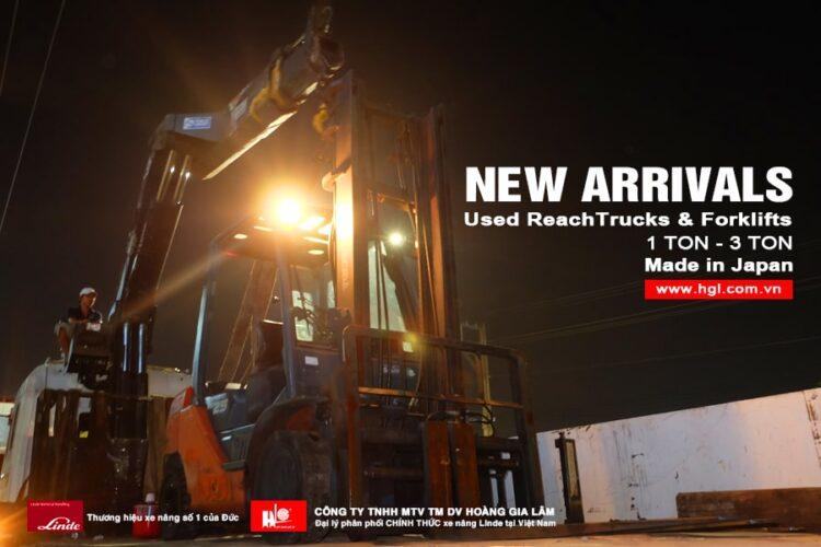 Hàng mới về 11.2020: Container xe nâng Nhật 1 tấn – 3 tấn
