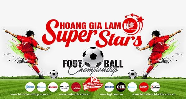 Chung kết giải bóng đá Hoàng Gia Lâm Super Stars 2020 | 17g, 10.1.2021