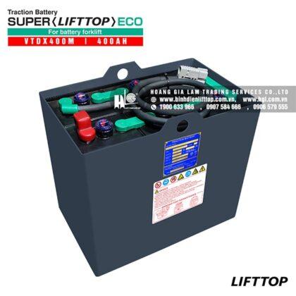 Bình điện xe nâng LIFTTOP 12V-400Ah VTDX400M