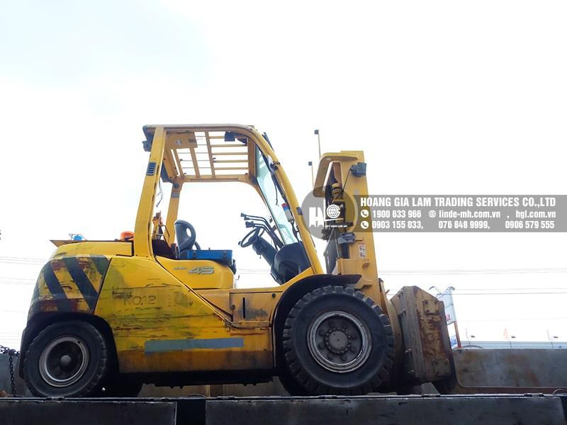 Hàng mới về 7.2021: Container xe nâng Nhật 1.2 tấn – 4.5 tấn