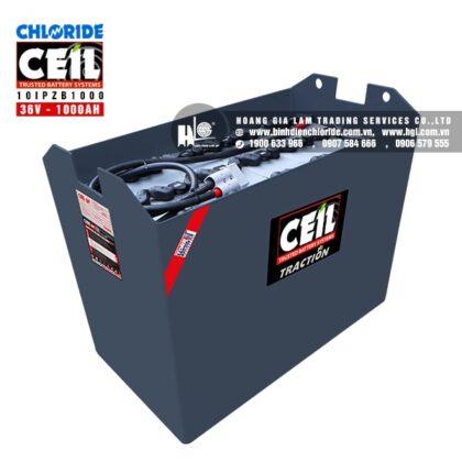 Bình điện xe nâng CEIL (Chloride) 36V - 1000Ah 10IPZB1000