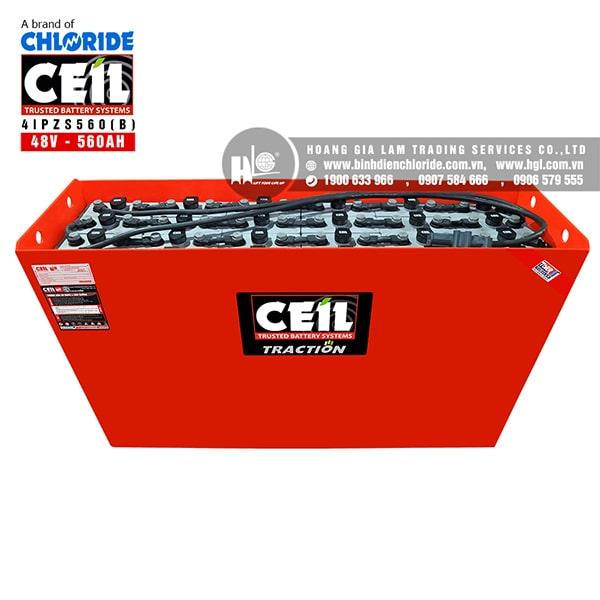 Bình điện xe nâng CEIL (Chloride) 48V - 560Ah 4IPZS560 (B)
