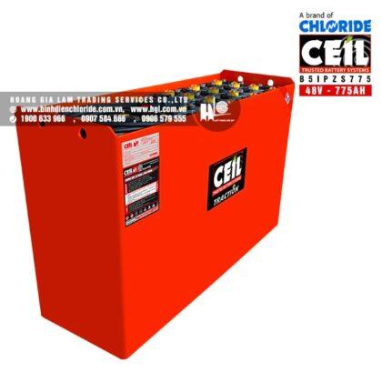 Bình điện xe nâng CEIL (Chloride) 48V - 775Ah B5IPZS775