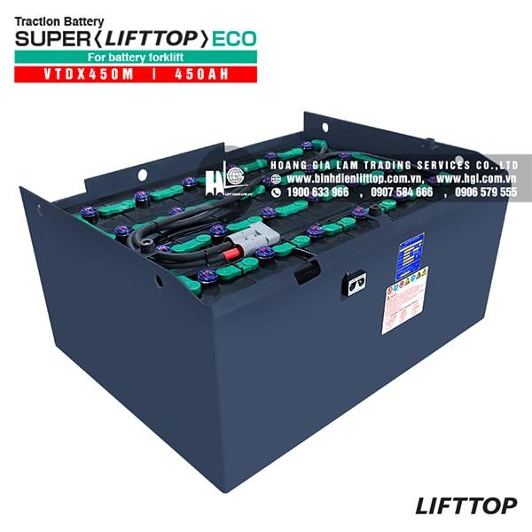 Bình điện xe nâng LIFTTOP 48V-450Ah VTDX450M