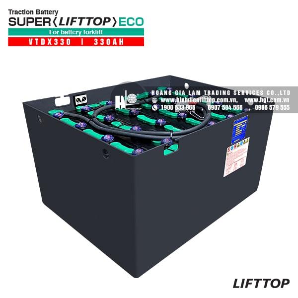 Bình điện xe nâng LIFTTOP 48V-330Ah VTDX330