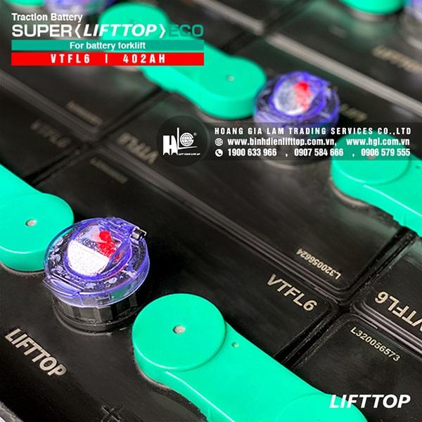 Bình điện xe nâng LIFTTOP 48V-402Ah VTFL6
