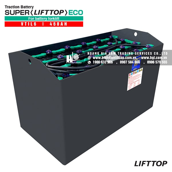 Bình điện xe nâng LIFTTOP 48V-468Ah VTIL6