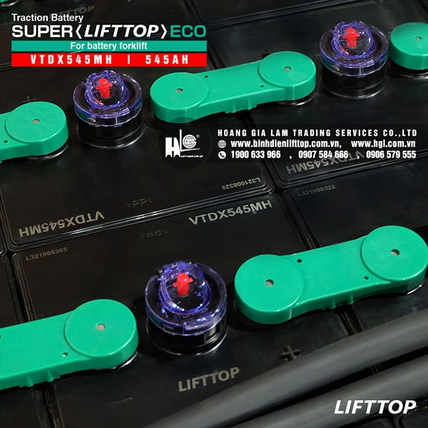 Bình điện xe nâng LIFTTOP 48V-545Ah VTDX545MH