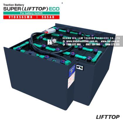 Bình điện xe nâng LIFTTOP 48V-565Ah VTDX565MH (Toyota)