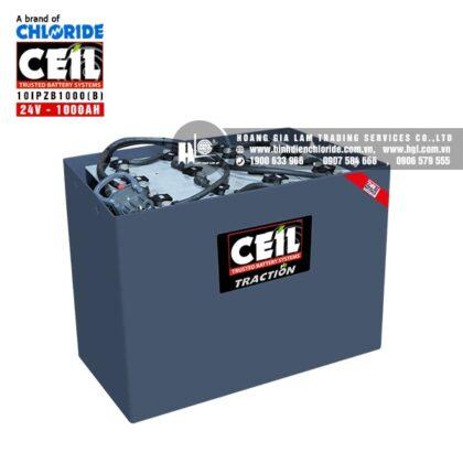 Bình điện xe nâng CEIL (Chloride) 24V - 1000Ah 10IPZB1000 (B)