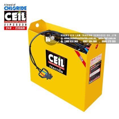 Bình điện xe nâng CEIL (Chloride) 24V - 230Ah 2IPZS230