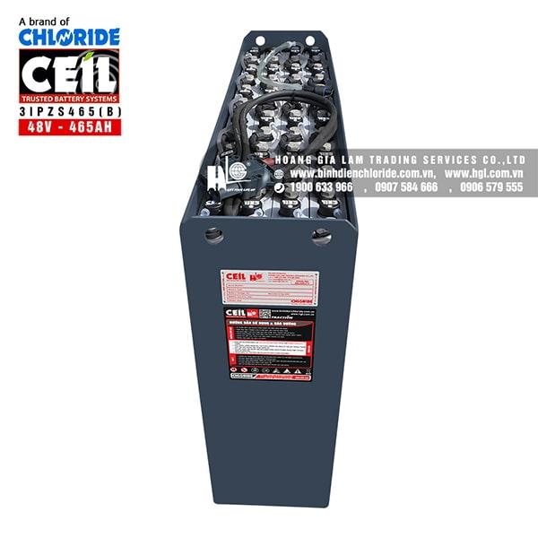 Bình điện xe nâng CEIL (Chloride) 48V - 465Ah 3IPZS465 (B)