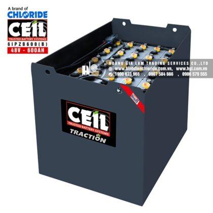 Bình điện xe nâng CEIL (Chloride) 48V - 600Ah 6IPZB600 (B)