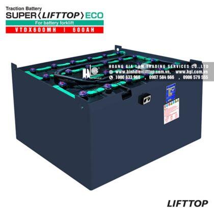Bình điện xe nâng LIFTTOP 48V-600Ah VTDX600MH